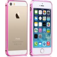 Бампер Vouni для iPhone 5/5S/5SE Buckle Color Match Pink/Rose
