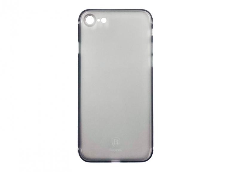 Чехол Baseus для iPhone SE 2020/8/7 Slim Transparent Black