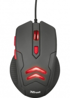 Мышь Trust Ziva Gaming Mouse + Mouse Pad