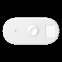 Беспроводное зарядное устройство Baseus Smart 3in1 18W Белый