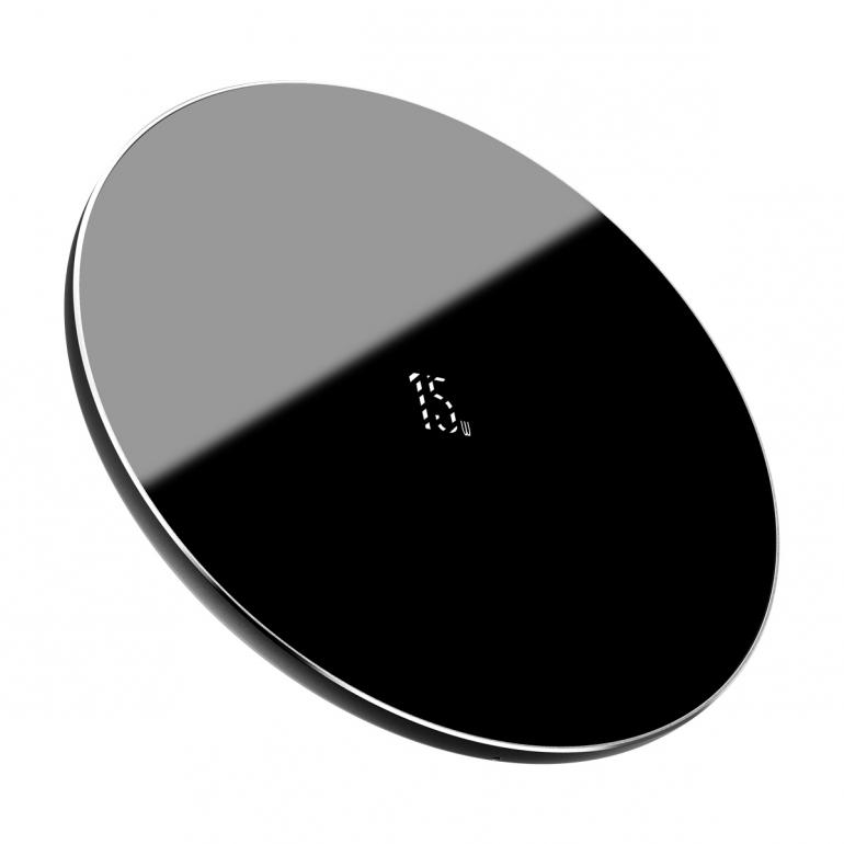 Беспроводное зарядное устройство Baseus Simple 15W Черный