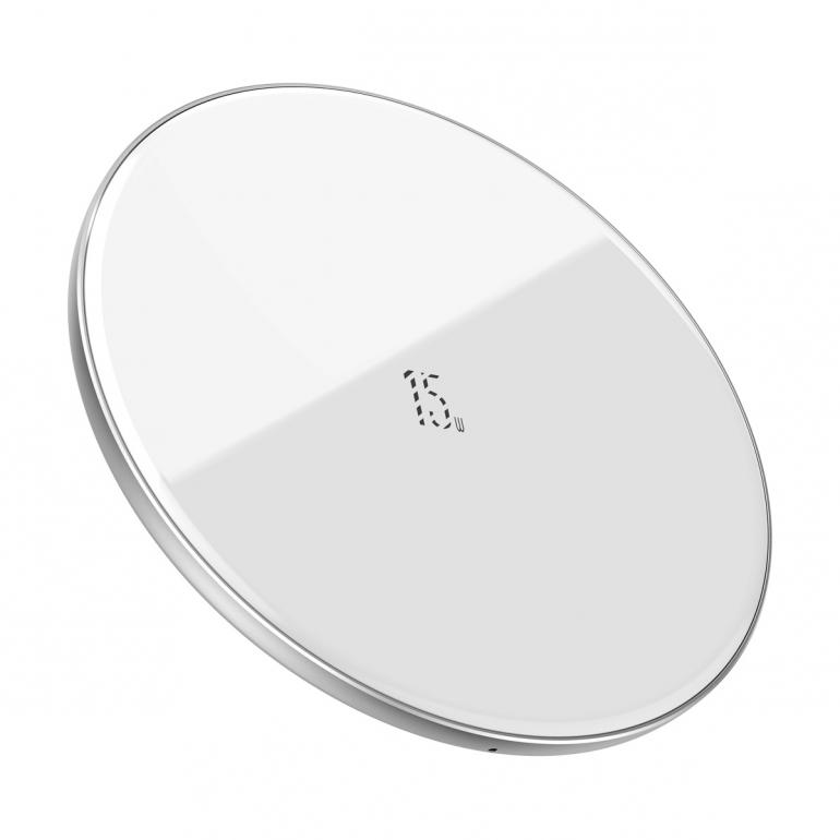 Беспроводное зарядное устройство Baseus Simple 15W Белый