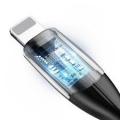 Кабель Baseus Horizontal для iPhone/iPad Lightning 1.5A 2M Черный