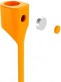 Держатель Baseus Earphone Strap для наушников AirPods, Оранжевый