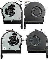 Вентилятор Asus ROG fx504 fx80 fx80g fx80ge fx80fe zx80gd GL703GE левый+правый 4+4pin
