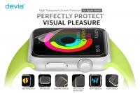 Защитная пленка Devia для Apple Watch 42mm - глянцевая