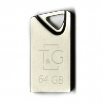 USB накопитель T&G 109 Metal series 64GB Silver