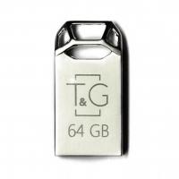 USB накопитель T&G 110 Metal series 64GB Silver