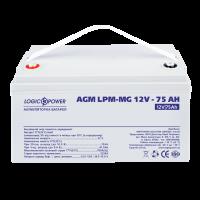 Аккумулятор мультигелевый LogicPower AGM LPM-MG 12-75 AH