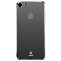 Чехол Baseus для iPhone 8/7 Glass Mirror Black