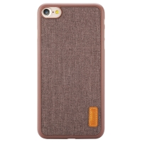 Чехол Baseus для iPhone SE 2020/8/7 Grain Brown