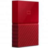 Внешний HDD Western Digital My Passport 4TB USB 3.0 Red