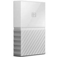 Внешний HDD Western Digital My Passport 4TB USB 3.0 White