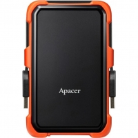 Внешний HDD Apacer AC630 2TB USB 3.1 Orange/Black