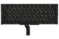 """Клавиатура для ноутбука Apple MacBook Air 11"""" A1370 A1465 MC505 MC506 черная без рамки Г-образный Enter"""