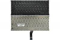 """Клавиатура для ноутбука Apple MacBook Air 13"""" A1369 A1466 черная без рамки Г-образный Enter"""