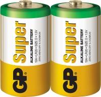 Батарейка GP Super Alkaline LR20 D 1.5V 2шт.