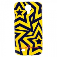 Чехол ARU для Samsung Galaxy S4 Stars Yellow