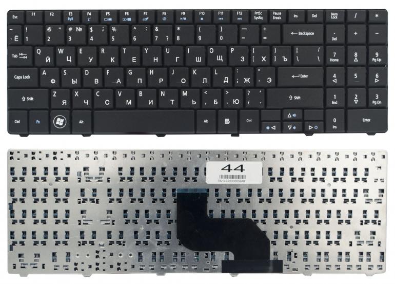 Клавиатура для ноутбука Acer Aspire 5532 5516 5517 5732ZG eMachine E525 E627 E625 черная