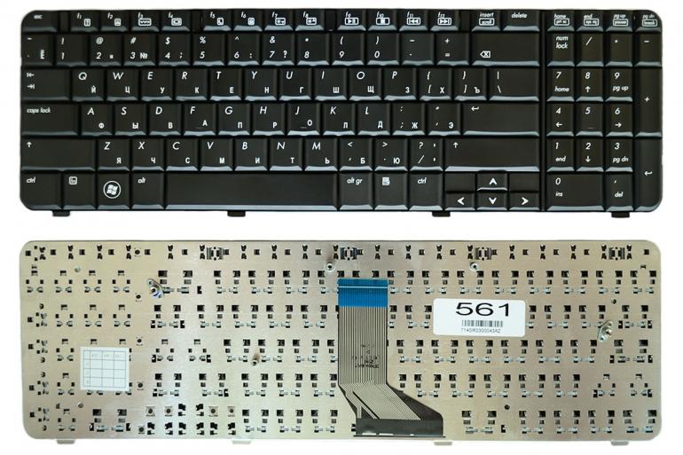 Клавиатура для ноутбука HP Compaq CQ61 G61 черная