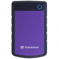 Внешний HDD Transcend StoreJet 4TB USB 3.1 Black/Purple
