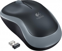 Мышь Logitech M185 Wireless Gray