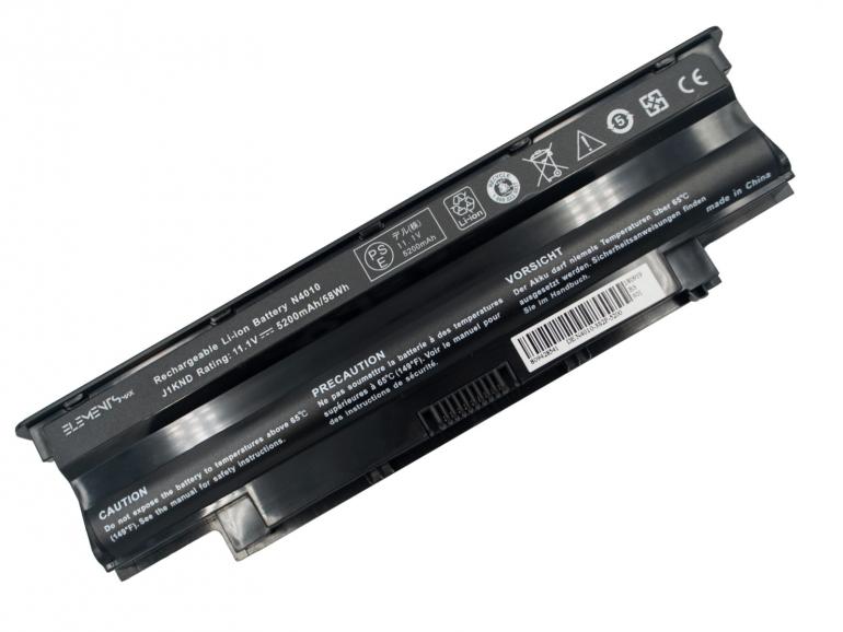 Батарея Elements MAX для Dell Inspiron 13R 14R 15R N3010 N5010 M501 Vostro 3450 3550 3750 11.1V 5200mAh