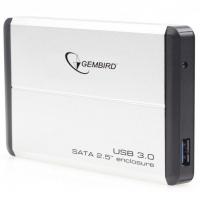 """Карман Gembird для HDD 2.5"""" USB 3.0 Silver"""