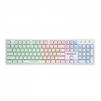 Клавиатура REAL-EL Comfort 7070 Backlit USB White