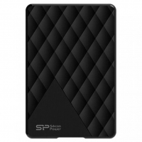 Внешний HDD Silicon Power Diamond D06 500GB USB 3.0 Black