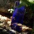 Чехол Baseus для iPhone X/Xs Glaze purple