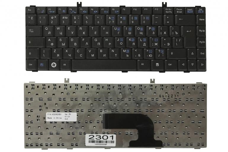 Клавиатура Fujitsu Amilo La1703 La1705 черная