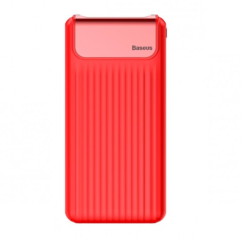 Внешний Аккумулятор Baseus Thin QC 3.0 10000mAh Red