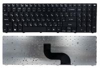 Клавиатура для ноутбука Gateway NV50 Packard Bell EasyNote TM81 TM86 TM87 TM89 TM94 TX86 черная