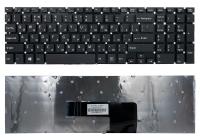 Клавиатура для ноутбука Sony Fit 15 SVF15 RU черная без рамки Прямой Enter