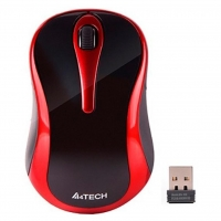 Мышь A4Tech G3-280N Wireless Black/Red
