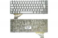 Клавиатура для ноутбука Asus A8 A8E A8M A8F A8H A8J F8 N80 X80 Z99 Z99H Z99J W3 W3A W3N W3J W6 W3000 серая