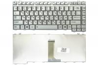 Клавиатура Toshiba Satellite A200 A205 A210 A215 A300 A305 M200 M205 M300 M305 L300 L305, серая