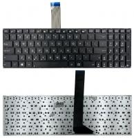 Клавиатура для ноутбука Asus X501 X501A X501U X550 X552 X750 черная без рамки Прямой Enter с 2-мя креплениями