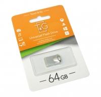 USB накопитель T&G 106 Metal series 64GB Silver