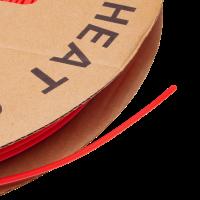 Термоусадочная трубка красная 3мм 1м