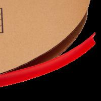 Термоусадочная трубка красная 12мм 1м