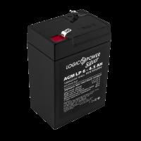 Аккумулятор LogicPower AGM LP 6-4.5 AH SILVER