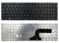 Клавиатура для ноутбука Asus K52 K52F K52J K52JK G51 G53 G60 G72 G73 W90 X52 X61 A52 F50 F70 черная с рамкой