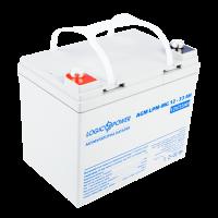 Аккумулятор мультигелевый LogicPower AGM 12-33 AH для TESLA (под болт М6)