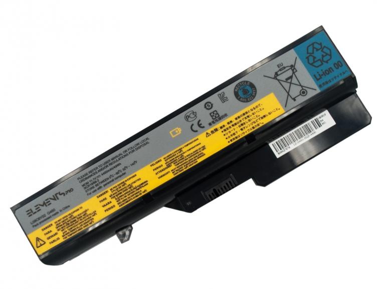 Батарея Elements PRO для Lenovo IdeaPad G460 G560 L09S6Y02 57Y6454 11.1V 4400mAh