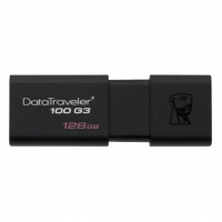 USB накопитель Kingston DataTraveler 100 G3 128GB Black