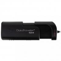 USB накопитель Kingston DataTraveler 104 16GB Black