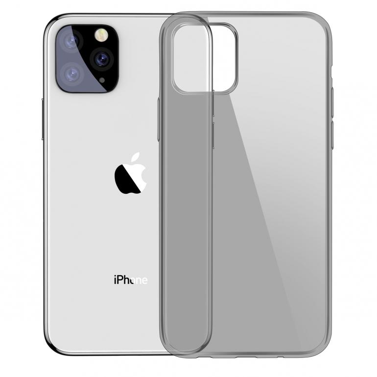 Чехол Baseus для iPhone 11 Pro Max Simplicity Прозрачный черный