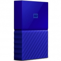 Внешний HDD Western Digital My Passport 4TB USB 3.0 Blue